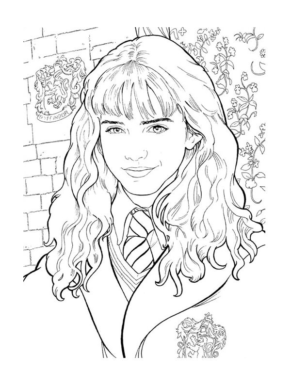 78 best coloriages hp images on pinterest coloring books harry potter craft and coloring. Black Bedroom Furniture Sets. Home Design Ideas