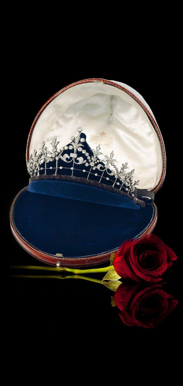 A Victorian diamond tiara circa 1860                                                                                                                                                                                 More