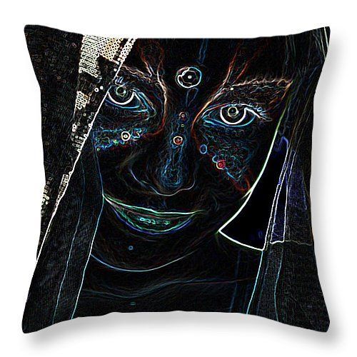 Neon - mystique  #pillow #pillows #prettypillow #fashionpillow #designpillow #trendypillow #throwpillows