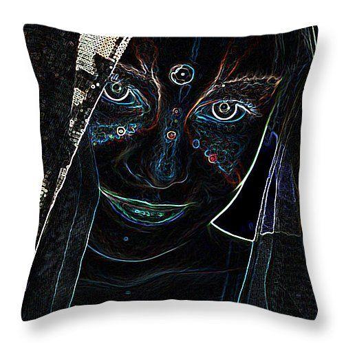 Neon - mystique  #pillow #pillows #prettypillow #fashionpillow #designpillow #trendypillow #throwpillows