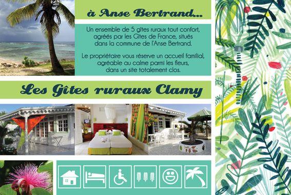 Flyer Gîte Guadeloupe