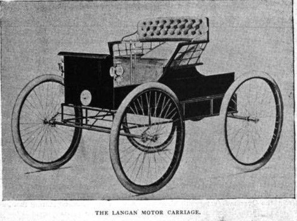 1898 October Langan Motor Carriage St Louis 1898 Sept St. Louis First Motor Carriage Builder & 1399 best Vintage Transportation-2 images on Pinterest | Vintage ... markmcfarlin.com