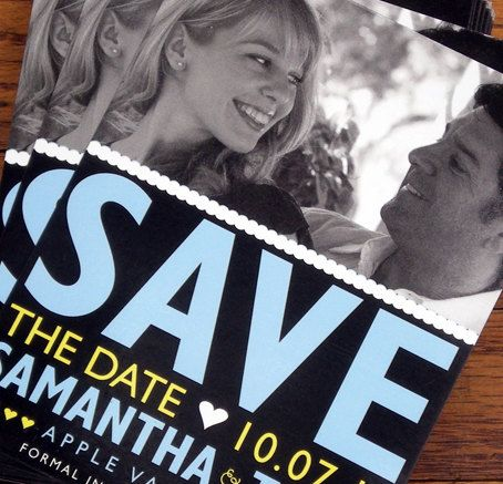 Save the date photo magnets @Jerm Nelson