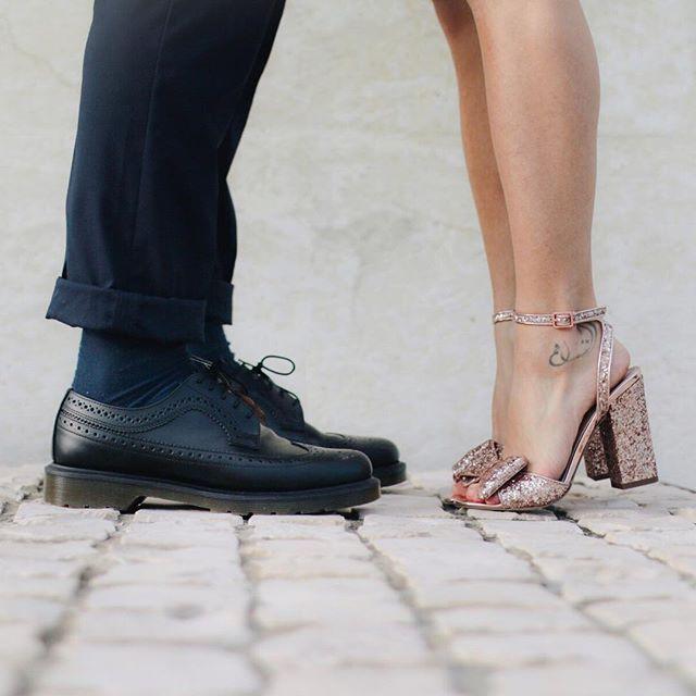 Chaussures de fêtes en couple https://www.instagram.com/asos_astrid