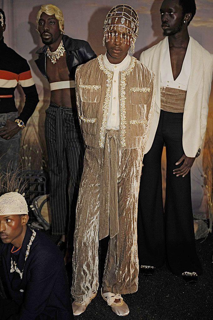 Grace Wales Bonner (Fashion East Men's Presentations) AW15 #LCM