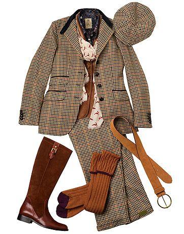 Ladies Wincanton Tweed Shooting Outfit