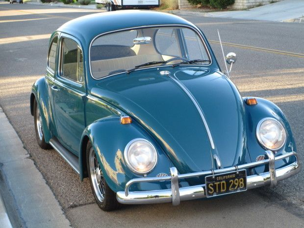 This Sea Blue 1966 Volkswagen Beetle features a number of driver-friendly modifications that should make it a lot of fun on the street. Though low, this car is not excessively slammed, and we think it looks great over BRM wheels. Find it here on The Samba in Apple Valley, California for $10,500 OBO.
