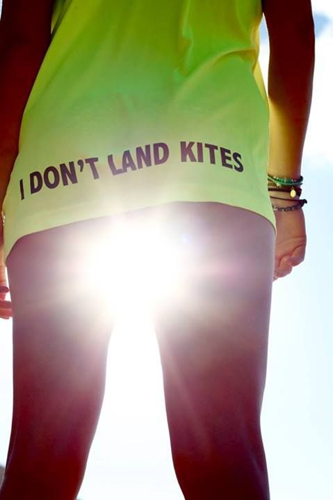 For those days when you spend all your time launching and landing other peoples kites!