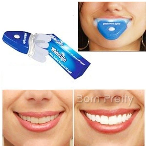 $8.51 Teeth Whitening Device Teeth Beauty Light Professional Teeth Whitening Gel - BornPrettyStore.com