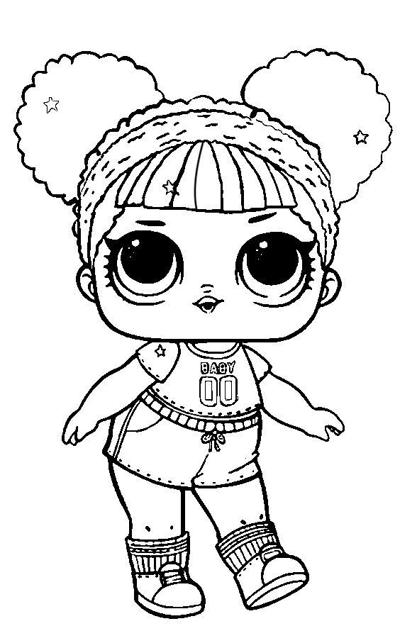 40 Free Printable Lol Surprise Dolls Coloring Pages Con Imagenes