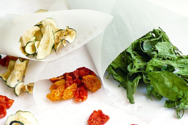 Овощные чипсы