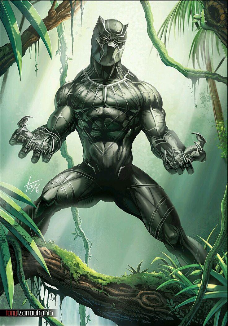 Герой черная пантера картинки