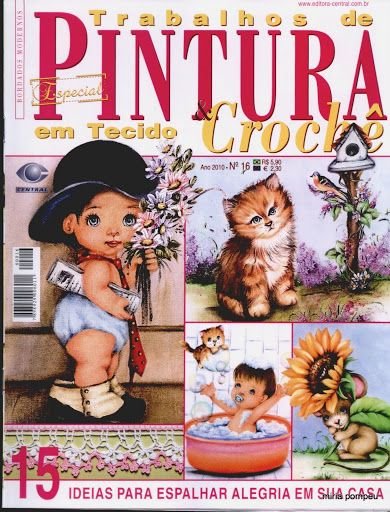 PINTURA E CROCHE - Acmira - Picasa Web Albums... FREE BOOK!