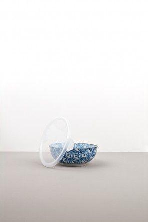 13cm lidded bowl petal crest www.mij.com.au