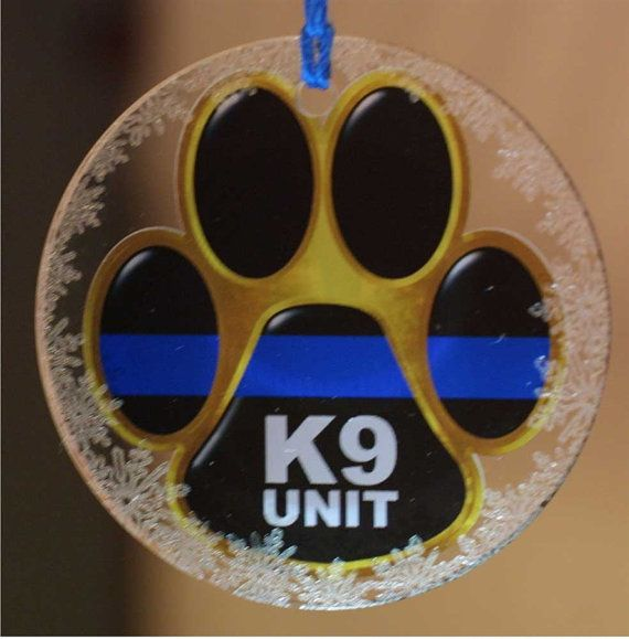 Hey, I found this really awesome Etsy listing at https://www.etsy.com/listing/170866709/thin-blue-line-k9-unit-paw-crystal
