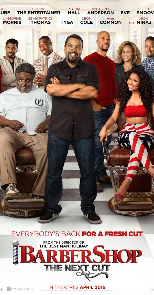 Directed by Malcolm D. Lee.  With Ice Cube, Regina Hall, Anthony Anderson, Eve. As their surrounding community has taken a turn for the worse, the crew at Calvin's…