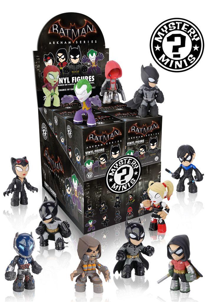 Mystery Minis Blind Box: Batman Arkham Games