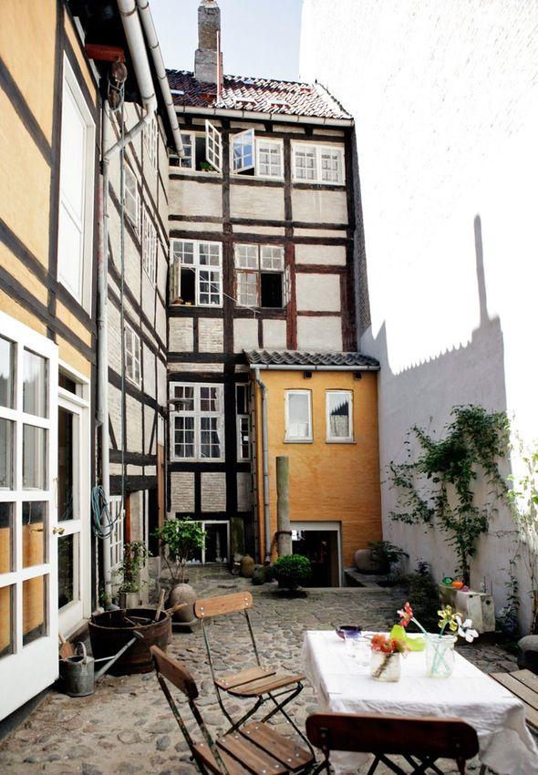 in Nyhavn, Copenhagen