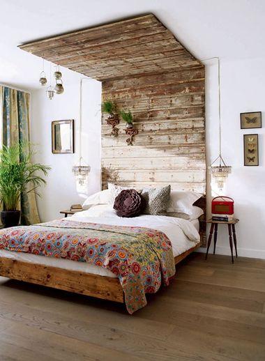 Hoofdbord van je bed versieren | 365 Woonideeën