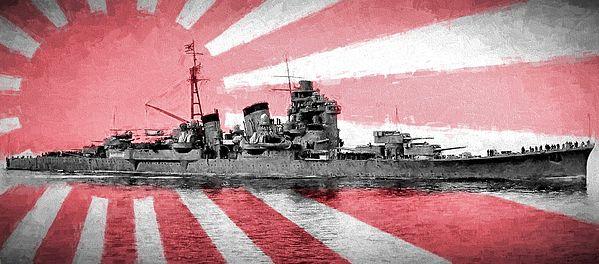 ijn Ashigara,japanese cruisers of wwii,cruiser takao,world war two warships,japanese warships of wwii,japanese flag,imperial japanese navy,imperial japanese navy in wwii,heavy cruisers,cruiser on flag,cruiser in flag,japanese battle flag,jc findley,world war two,japan at war,the war with japan,pacific ocean,the pacific theater, naval history,history,japan,japanese navy, imperial japanese navy,japanese navy in wwii,japanese navy wwii
