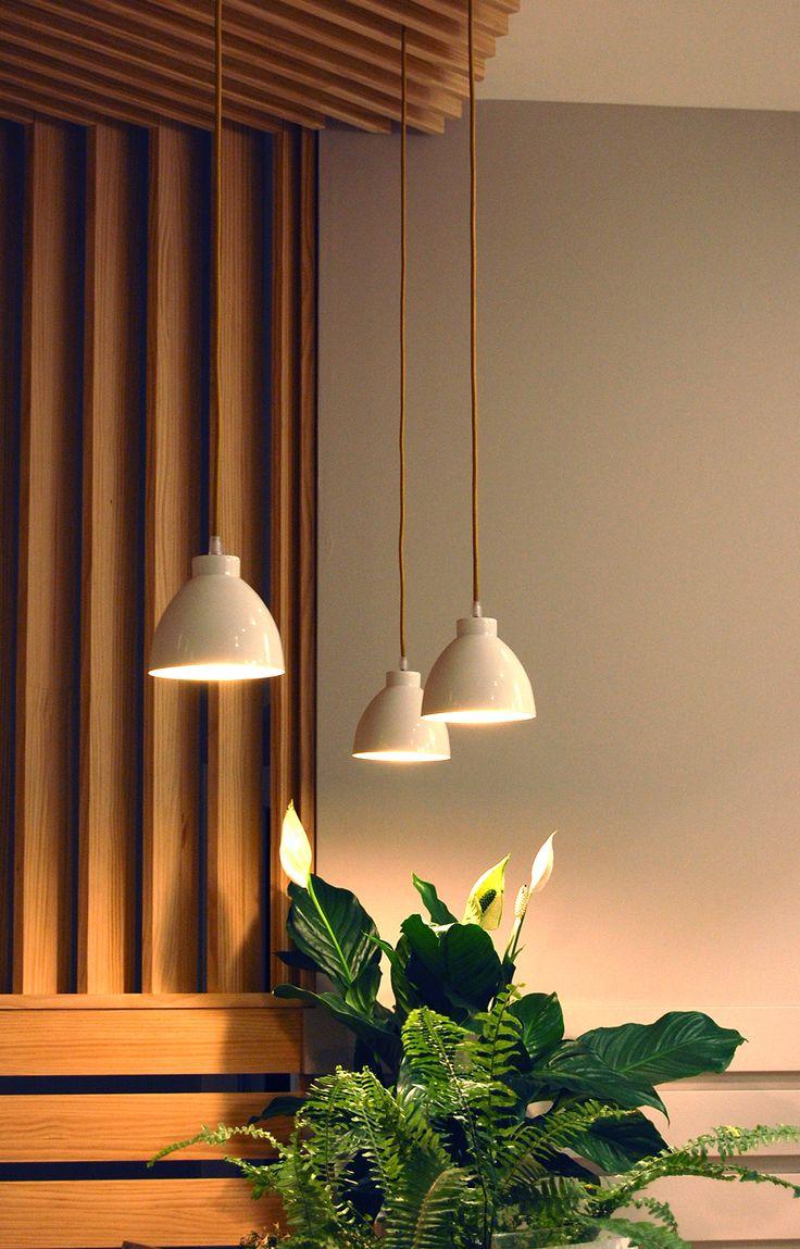Lamparas creadas específicamente por Sombras Iluminación para este proyecto