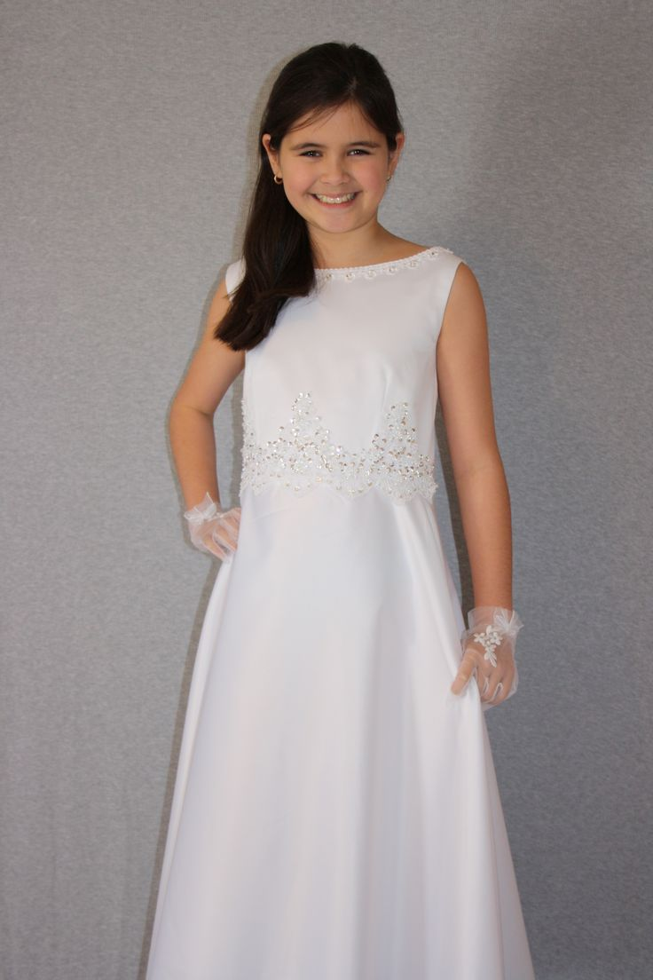 Beautiful First Communion Dress by Silk n Satin Communion Dresses. Angel-109. $59 https://silknsatincommuniondresses.com.au/product/angel/