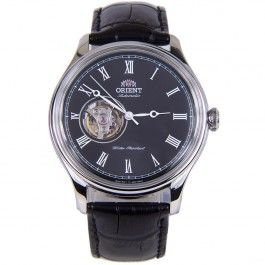 Orient Automatic Leather Strap Open Heart Analog Gents Dress Watch AG00003B FAG00003B