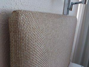 M s de 1000 ideas sobre cabeceros de cama tapizados en - Como hacer cabecero tapizado ...