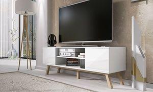 Groupon Meuble Tv Vero Scandinave Prix Groupon 129 90 Meuble Salon Meuble Tv Meuble Tv Bois