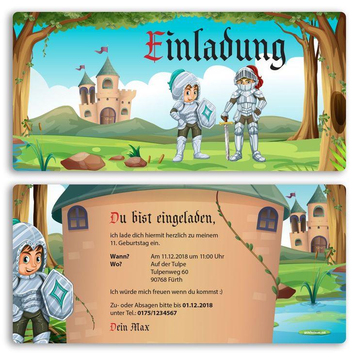 Einladungskarte Kindergeburtstag Ausdrucken | Q | Pinterest | Einladungskarten  Kindergeburtstag, Einladungskarten Und Ausdrucken