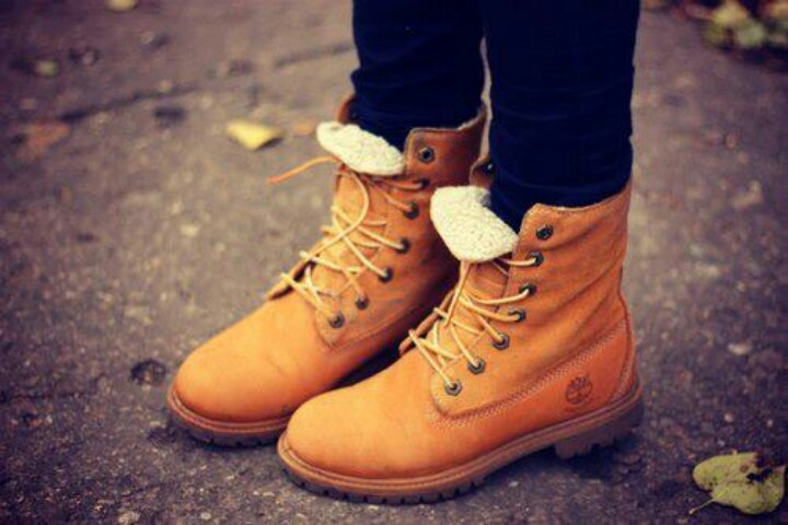 Timberlands I will get myself a pair.  I used to have some when I was younger... and now I want them again!!!