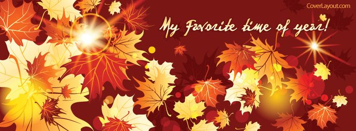 My Favorite Time Of Year Facebook Cover CoverLayout.com
