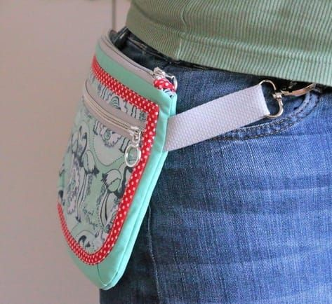 Freebook: Hüfttasche Napirai nähen – Nähanleitungen bei Makerist