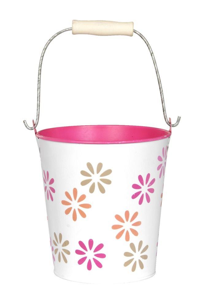 Bloempot Robijn: in verschillende kleuren verkrijgbaar. Combineer een aantal bloempotten met elkaar, en vrolijk je tuintafel of een saai hoekje in je tuin snel op