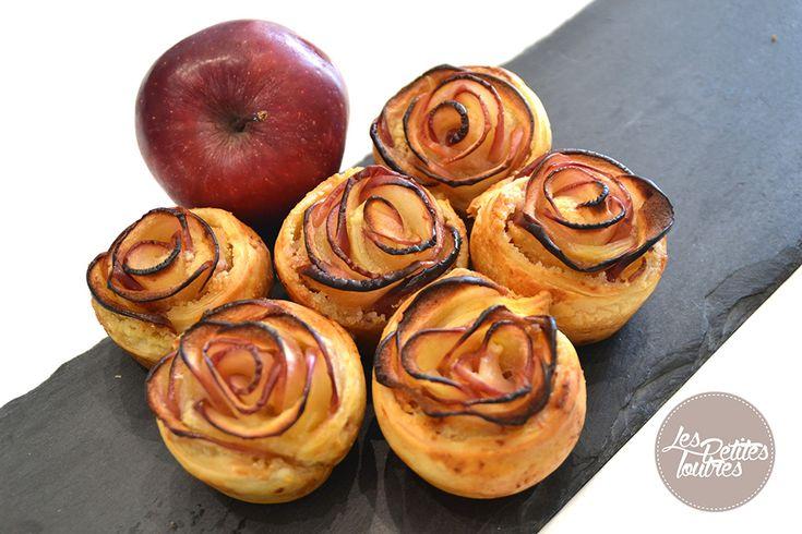 Une recette originale de jolies roses feuilletées avec des pommes rouges. Effet garanti auprès de vos convives tant par le goût que par la présentation de ces pommes.