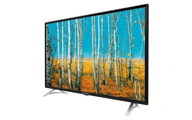 Sommertilbud! THOMSON 40 tommer med DVB-T2   Satelittservice tilbyr bla. HDTV, DVD, hjemmekino, parabol, data, satelittutstyr