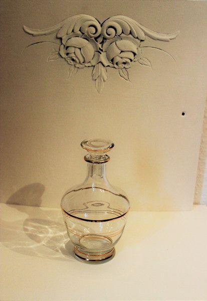 Vintage Flaschen - Glaskaraffe klein - ein Designerstück von Pfaennle bei DaWanda