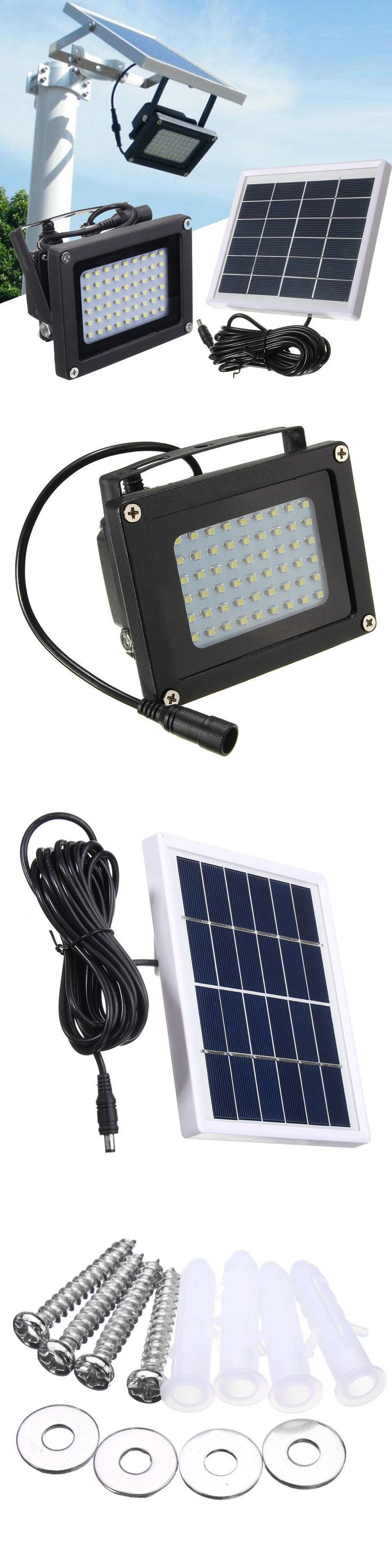 farm and garden: 54 Led Floodlight Solar Powered Sensor Waterproof Outdoor Security Flood Light -> BUY IT NOW ONLY: $32.85 on eBay!