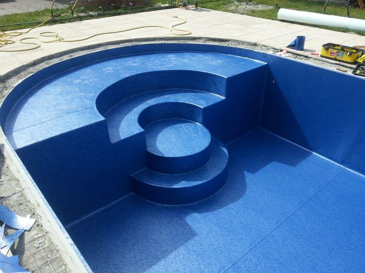 Zwarte pool liner maison design navsop.us