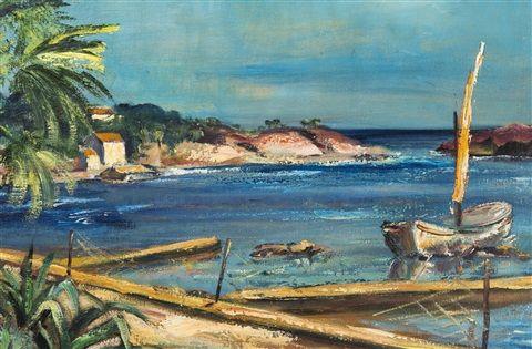 Old. Koníček, Na pobřeží, 1929