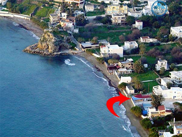"""Kantouni Beach""hotels location"