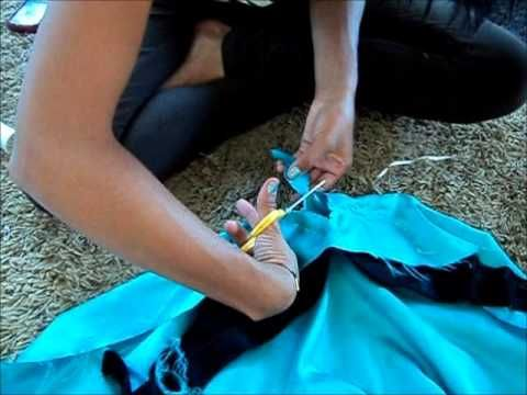 How to Make Jasmines top - YouTube Use the bra method on the top,
