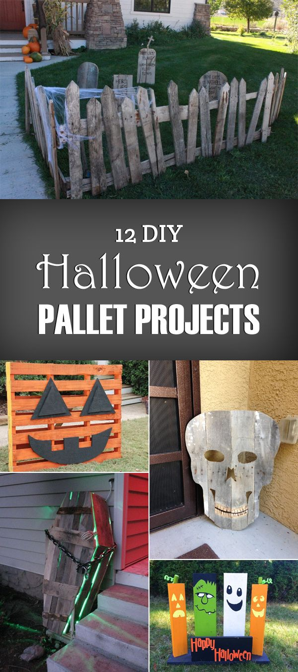 12 Diy Halloween Pallet Projects Halloween Pallet Projects