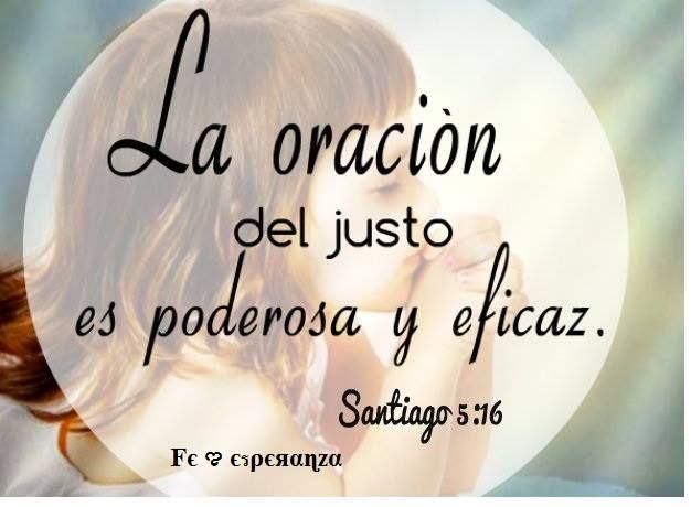Por eso, confesaos unos a otros vuestros pecados, y orad unos por otros, para que seáis sanados. La oración del justo es poderosa y eficaz.  Santiago 5:16