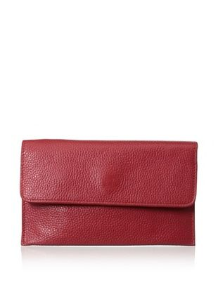 65% OFF Zenith Women's Flap Wallet, Red