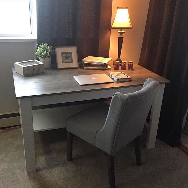 This workspace desk turned out perfect.  Half lower shelf for foot room and storage too.