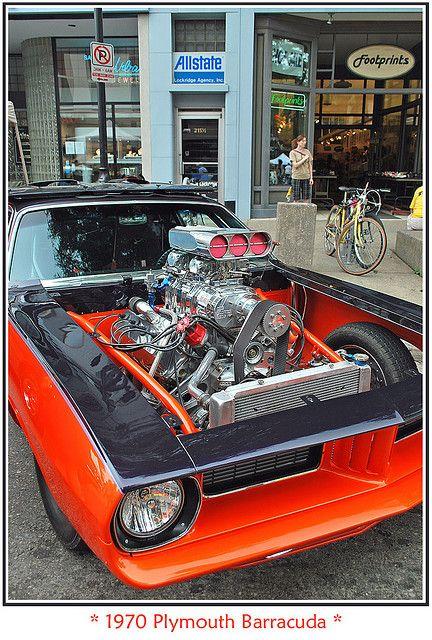 Blown 1970 Plymouth Barracuda