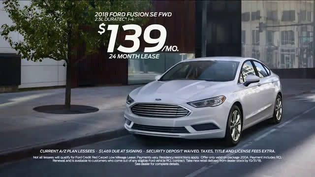 Ford 2018 Fusion Sleek Stylish Economical Ad Commercial On
