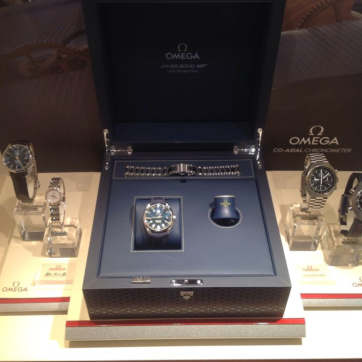 Come to Zelley and IN-SPECTRE the new Bond 007 Omega watch, just received in store. Omega Seamaster Aqua Terra 150m - James Bond Limited Edition (15,0007 pieces)