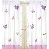 Found it at Wayfair - Butterfly Cotton Curtain Panel